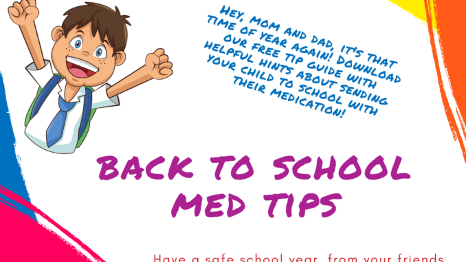 A banner of back to shool me tips