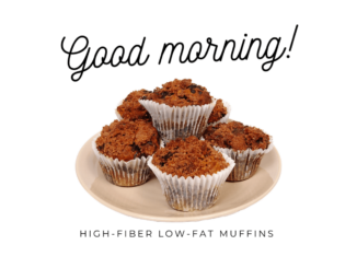 Some cakes of muffins