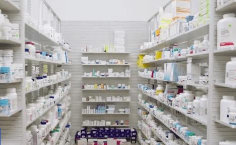 Medicine shelfs