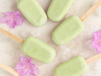 6 pcs of ice avocado ice cream