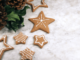 Some cookies with star shape.